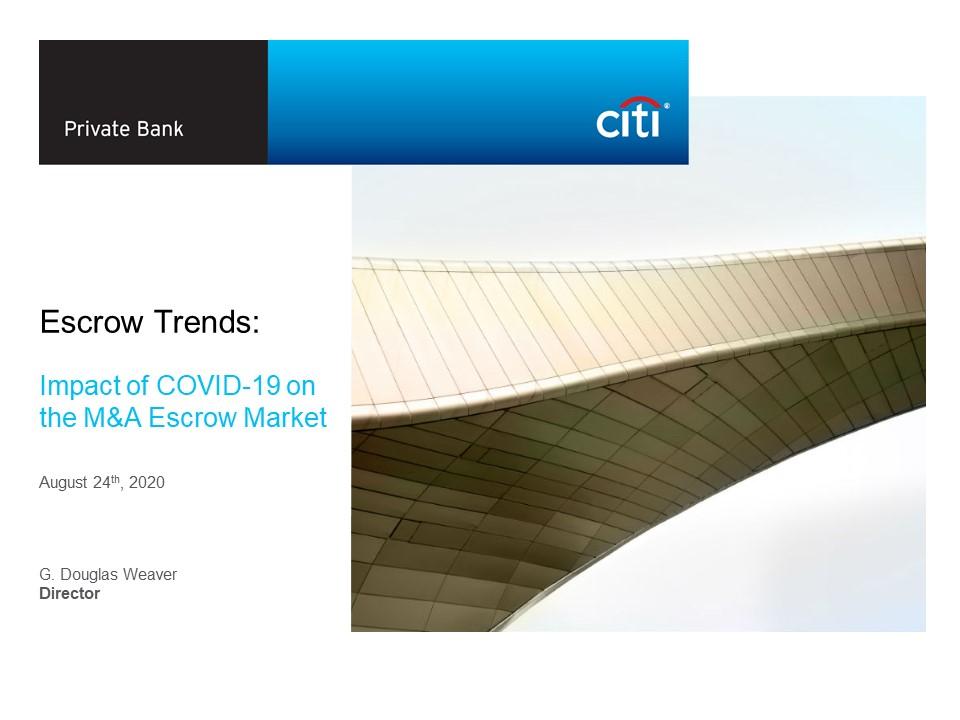 Covid 19 Impact on MA Escrow Market